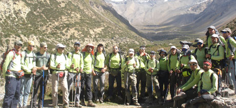 Chulu West Peak Climbing Group